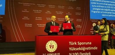 Toros Üniversitesinden Türk Sporuna Yüzde 100 Destek