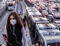 METROBÜS DURAĞI - İstanbul'da virüsün etkisi yüzde 26!