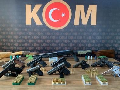 Silah Ticaretinden 14 Gözaltı