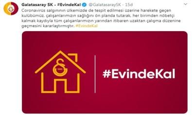 Galatasaray, Korona Virüs Önlemlerini Arttırdı