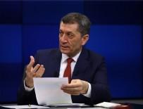 Ziya Selçuk - Milli Eğitim Bakanı Selçuk açıkladı