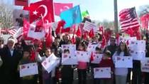 KUZEY AMERIKA - Beyaz Saray önünde Türkiye'ye destek gösterisi