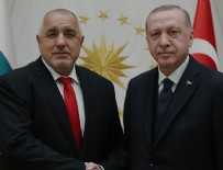 CUMHURBAŞKANLIĞI KÜLLİYESİ - Cumhurbaşkanı Erdoğan, Borisov'u kabul etti!