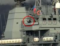 SAVAŞ GEMİSİ - Rus savaş gemisinden provokatif geçiş!
