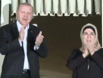 EMINE ERDOĞAN - Cumhurbaşkanı Erdoğan da sağlık çalışanlarına destek verdi