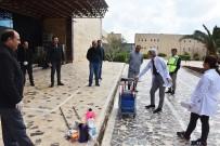 HARRAN ÜNIVERSITESI - Harran Üniversitesi'nde Temizlik Personellerine Hijyen Eğitimi Verildi