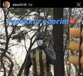 ÜLKER - Heykeline Maske Takılan Alex'ten Teşekkür