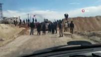 ROKETLİ SALDIRI - İdlib Halkından Türk Askerlerine Destek