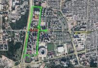 RAYLI SİSTEM - Meltem Bulvarı'nda Raylı Sistem Çalışmaları Başlıyor