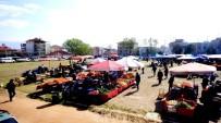 HAYVAN PAZARI - Sarıgöl Pazaryeri İlçe Stadyumunda Kuruldu