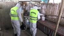 KıLıÇARSLAN - Tarım İşçilerinin 'Çadır Kentinde' Koronavirüs Tedbirleri