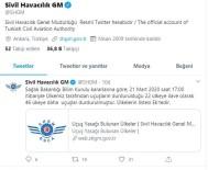 SIVIL HAVACıLıK GENEL MÜDÜRLÜĞÜ - 46 Ülkeye Daha Uçuşlar Durduruldu