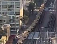 KALIFORNIYA - ABD'de şehirlere tank sevkiyatı!