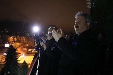 Başkan Palancıoğlu'ndan Sağlık Çalışanlarına Gönülden Destek