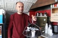 ÇAY OCAĞI - Çay Ocağından Korona Virüsüne Karşı Pet Bardaklı Önlem