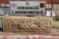 BIZANS - Erzincan'da, Sosyal Medya Üzerinden Lahit Mezarı Satmaya Çalışan Şahıs Yakalandı