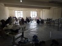 MÜSAMAHA - Kaçak Maske Üreticisi Mühürlendi