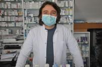 AÇIK KAPI - Kars'ta Eczacılardan Şeritli Korona Virüs Önlemi