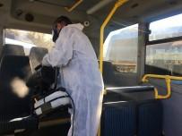 ALLAH - Maltepe'de Hatlı Minibüsler Korona Virüsüne Karşı İlaçlı Su İle Dezenfekte Edildi