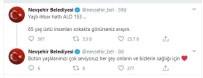 İHBAR HATTI - Nevşehir Belediyesi Açıklaması '65 Yaş Üstü İnsanları Görürseniz Arayın'