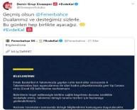 BASKETBOL TAKIMI - Sivasspor'dan Fenerbahçe'ye Geçmiş Olsun Mesajı