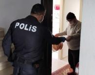ŞEKER HASTASı - Aksaray'da Yaşlı Ve Hastaların İhtiyaçlarını Polis Ekipleri Karşıladı