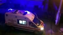 AMBULANS ŞOFÖRÜ - Ambulans Şoförü Destek Olan Vatandaşa Megafondan Teşekkür Etti