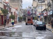 ÖZLEM ÇERÇIOĞLU - Aydın'da Cadde Ve Sokaklar Dezenfekte Ediliyor