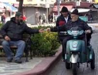 HAYALET - İstanbul'da 65 yaş üstü sokağa çıkma yasağına uymadı!