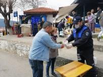 CANER YıLDıZ - Menteşe'de Halk Pazarında Korona Virüs Önlemi