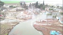REYHANLI - Reyhanlı Barajı'nın Altıda Biri Doldu
