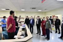 ÖMER SEYMENOĞLU - Vali Seymenoğlu Korona Virüs  Önlemlerini Yerinde İnceledi