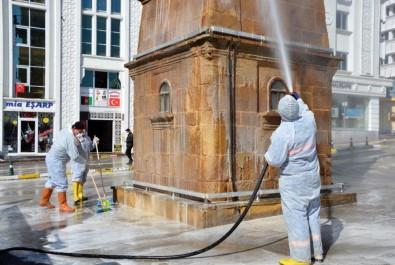 Yozgat Belediyesinden Geniş Kapsamlı Temizlik Çalışması