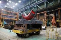 BORU HATTI - Akkuyu'da Reaktör Soğutma Hattında Kullanılacak Dirsek Boruların Üretimi Tamamlandı