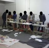 MÜSAMAHA - Asma Katta Kaçak Maske Üretimi