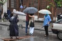 YAĞIŞLI HAVA - Aydın'da Yağışlı Hava Etkili Olacak
