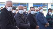 ASKERİ TÖREN - Gazi Cenazesinde Maske Hassasiyeti