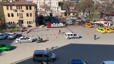 Iğdır Ve Kars'ta Koronavirüse Karşı Anonslu Uyarı