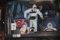 TIR ŞOFÖRÜ - KKTC İle Lübnan'dan Gelen Öğrenci Ve Tır Şoförleri Mersin'de Karantinaya Alındı