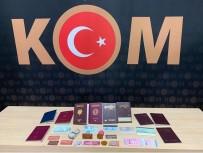 SAHTE KİMLİK - Sahte Kimlik Ve Pasaport Yapan 2 Şahıs Polis Tarafından Yakalandı