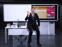 Ziya Selçuk - Uzaktan eğitim başladı: İlk dersi Milli Eğitim Bakanı Zelçuk verdi