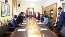 BÜLENT TEZCAN - AK Parti'den CHP'ye İnfaz Düzenlemesi Ziyareti