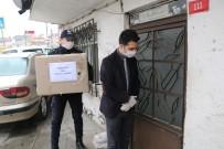 KALP HASTASI - Bağcılar'da Evden Çıkamayan Yaşlıların İhtiyaçları Karşılanıyor
