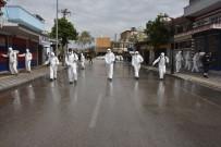 CEYHAN - Ceyhan'da Dezenfekte Seferberliği