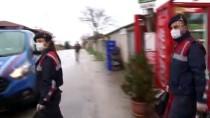 TIR ŞOFÖRÜ - Edirne'de Jandarma, Yaşlıların Market Alışverişini Yaptı