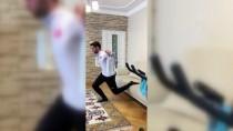 OLIMPIYAT OYUNLARı - Evini Spor Salonuna Dönüştüren Milli Sporcu İpcioğlu'ndan 'Evde Kalın' Çağrısı