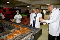 YEREL YÖNETİM - Gürkan'dan Ekmek Fabrikasına  Ziyaret