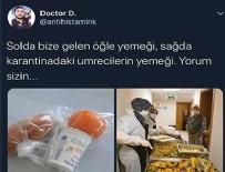 DOKUNULMAZLIK - Karantinadaki vatandaş ve sağlık personeline verilen yemek üzerinden provokasyon yapan doktor gözaltında