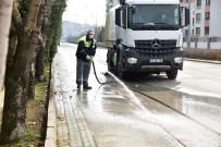 ZINCIRLIKUYU - Mahalle Temizliği Devam Ediyor