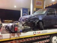 SÜLEYMAN YıLDıZ - Motosiklet İle Otomobil Çarpıştı Açıklaması 1 Ölü, 1 Yaralı
